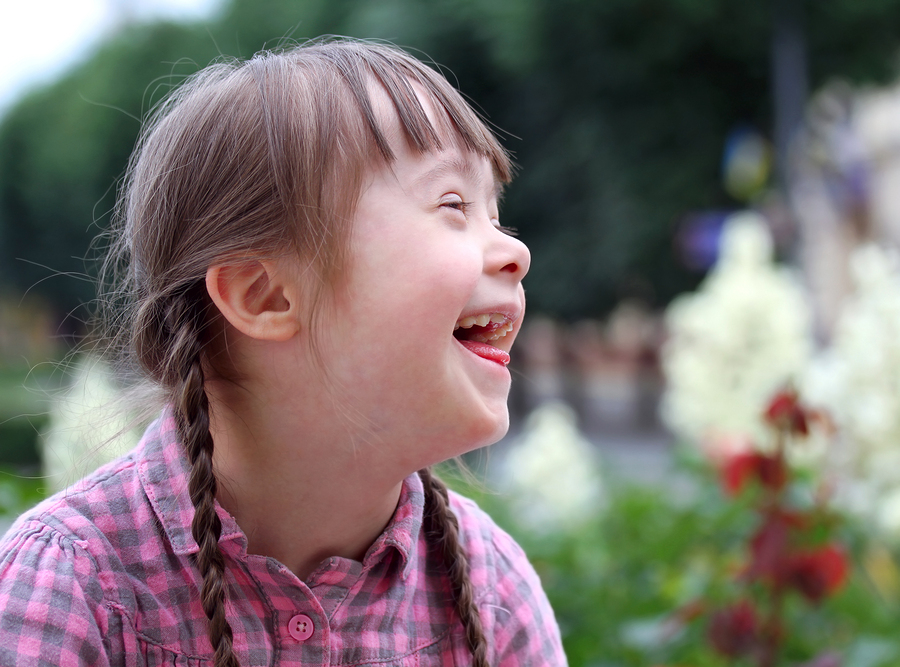 Down syndrome-laughter